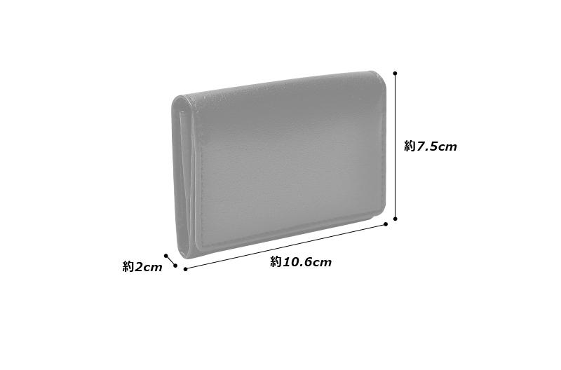 Milagro(ミラグロ) CBレザー CBレザー カードケース bt-k07 縦 : 7.5cm × 横 : 10.6cm × 厚さ : 2cm 重さ/35g