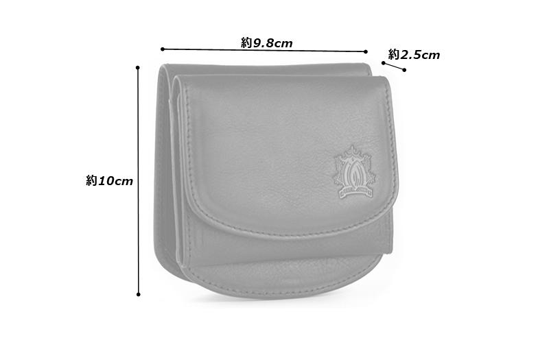 Milagro イタリアンシュリンクレザー 二つ折り財布 bt-ws23 素材 外側/牛革(イタリア産バケッタシュリンクレザー) 内側/牛革(イタリア産バケッタスムースレザー)、ポリエステル、他 サイズと重さ(約)縦:9cm × 横:11.5cm × 厚さ:3cm / 125g 仕様 外側:前面/カードポケット×1、背面/カードポケット×1 内側:札入れ×1、ボックス形小銭入れ×1、カードポケット×12、メッシュポケット×2、オープンポケット×3 カラー3色(ブラック、ダークブラウン、ライトブラウン)