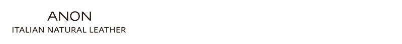 ca-v-624ANON(アノン) 伊・バケッタレザー・L字ファスナー二つ折り財布 ca-v-624
