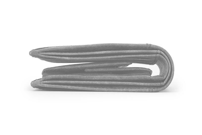 milagro ミラグロ イタリアンヌバック・21ポケット二つ折り財布 ca-p-2108 サイズ2