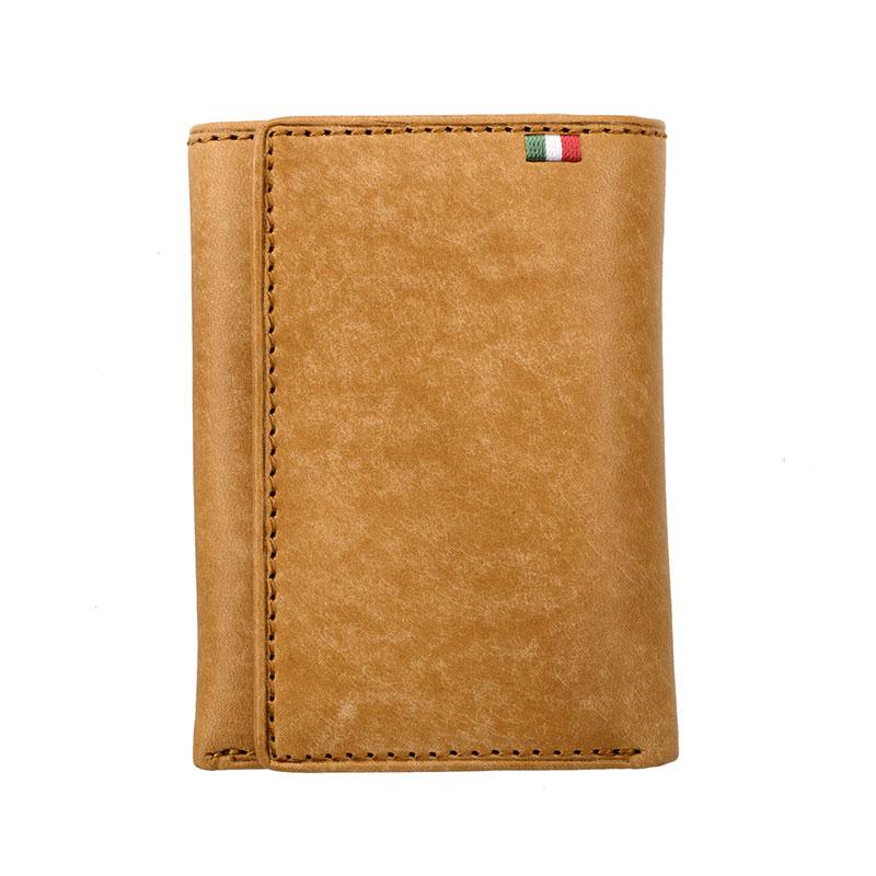 milagro ミラグロ イタリアンヌバック・3つ折り財布 ca-p-531 ブラウン