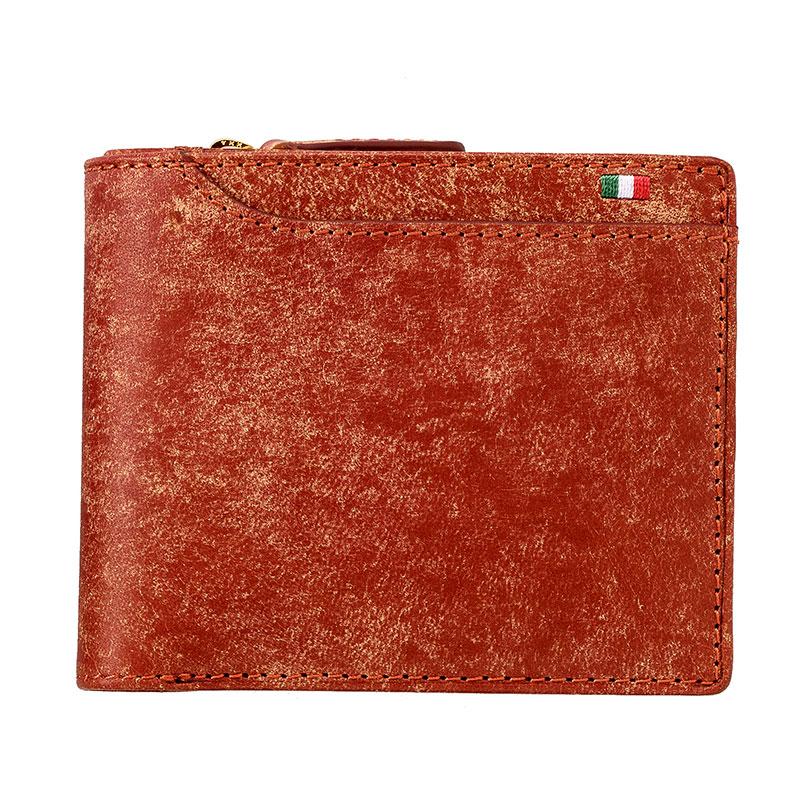 milagro ミラグロ イタリアンヌバック・23ポケット二つ折り財布 ca-p-572