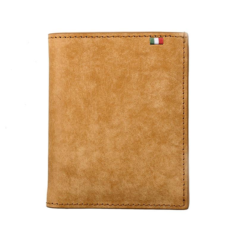 milagro ミラグロ イタリアンヌバック・コンパクト財布 ca-p-591 ブラウン