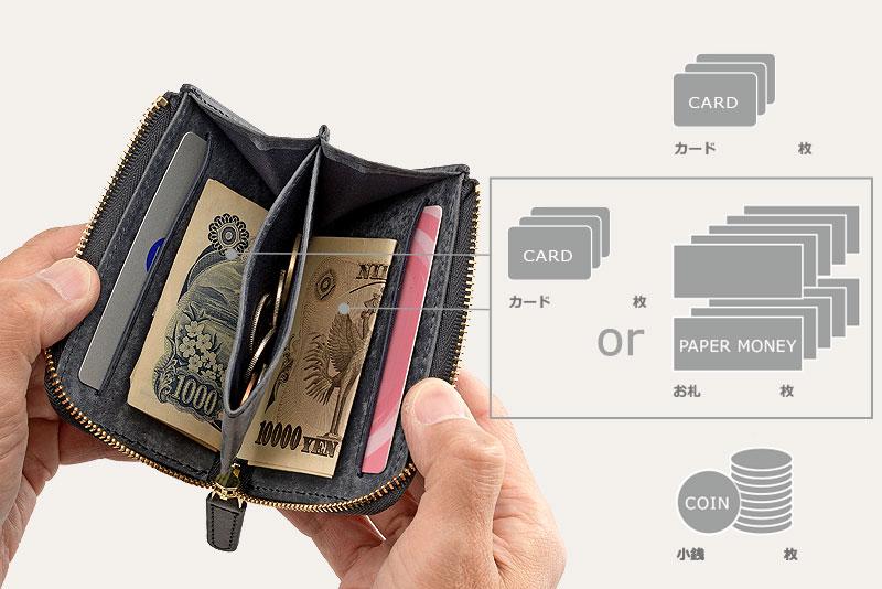 milagro ミラグロ イタリアンヌバック・3つ折り財布 ca-p-593