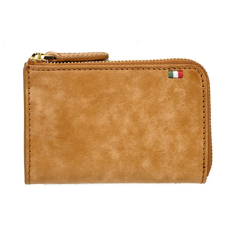 milagro ミラグロ イタリアンヌバック・3つ折り財布 ca-p-593 ブラウン