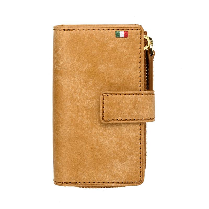 milagro ミラグロ イタリアンヌバック・3つ折り財布 ca-p-594 ブラウン