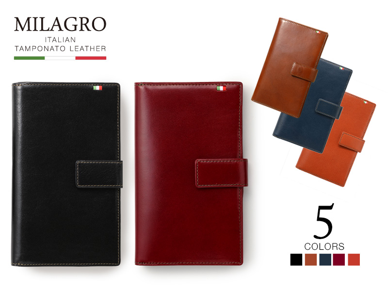 Milagro(ミラグロ)タンポナートレザー カード 30枚長財布 ca-s-2163