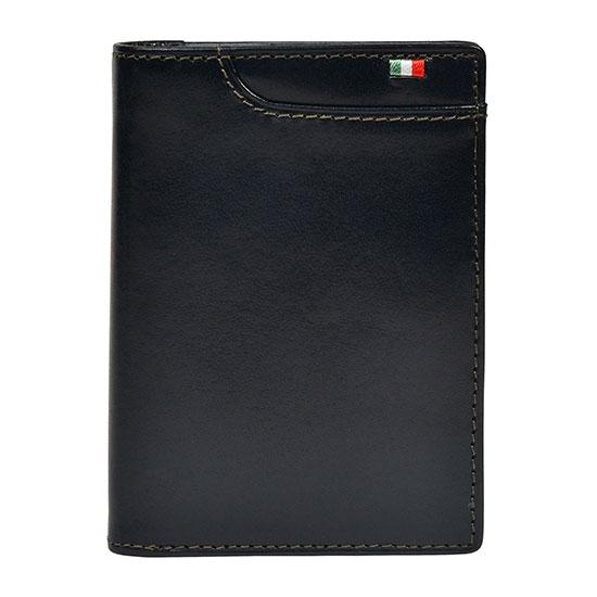 milagro ミラグロ イタリアンレザー・L字二つ折り財布 ca-s-571 ネイビー