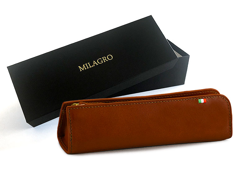 milagro ミラグロ イタリアンレザー・ペンケース ca-s-584