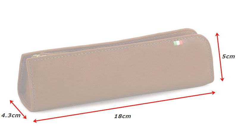 milagro ミラグロ イタリアンレザー・ペンケース ca-s-584 素材 牛革(イタリアンレザー)、ポリエステル、金具 サイズと重さ(約) (縦)5cm×(横)18cm×(マチ)4.3cm / 重さ:52g 仕様 ファスナー式ペン入れ×1 カラー 3色(ブラウン・チョコ・ネイビー)