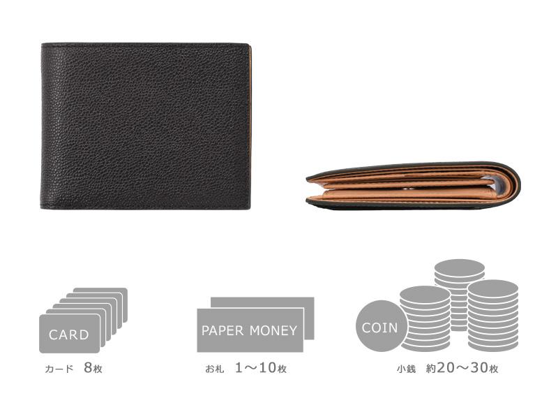 Milagro(ミラグロ) 英国C. F. Stead社製レザー・二つ折り財布 ca-w-629