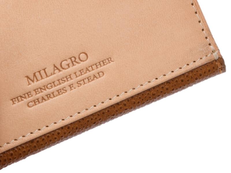 Milagro(ミラグロ) 英国C. F. Stead社製レザー・名刺入れ ca-w-630