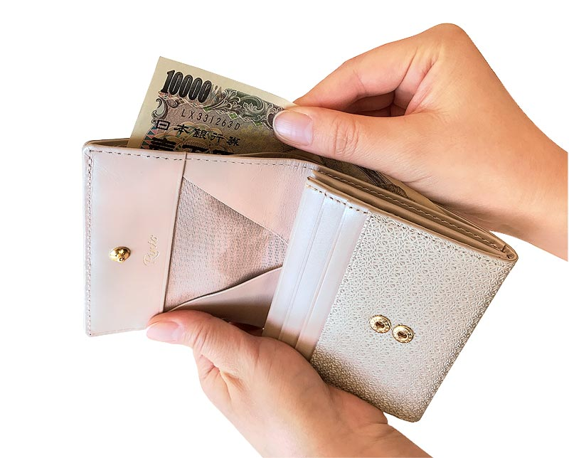 Rinto(リント) ギャルソン 2つ折り財布 ea-ri001