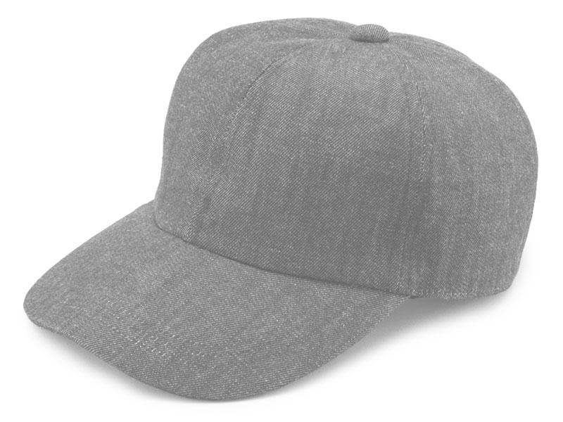 井上帽子 越後片貝木綿・デニムキャップ in-ed-h017  フリーサイズ 約55 cm 〜 60 cm