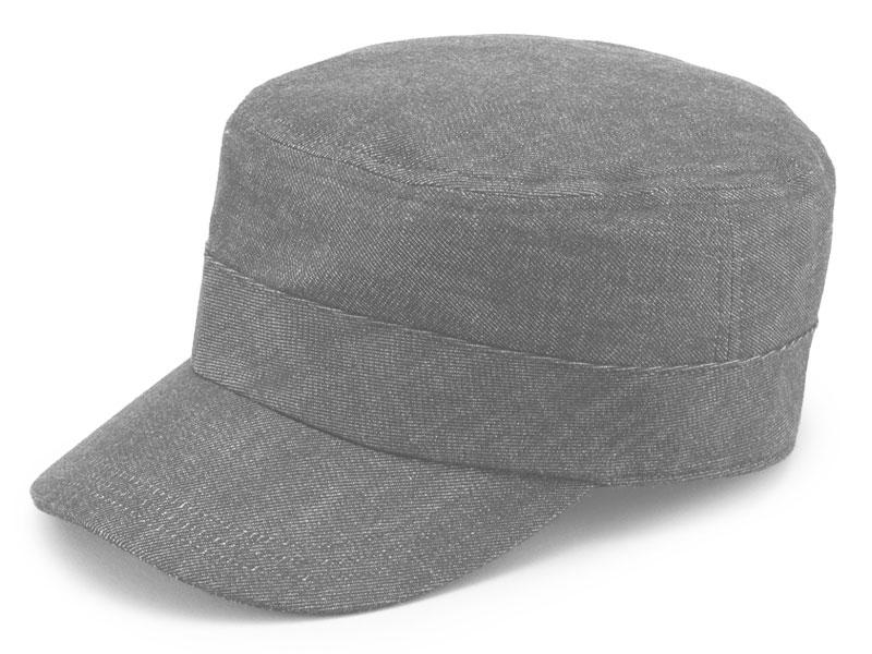 井上帽子 越後片貝木綿・デニムワークキャップ in-ed-h019 フリーサイズ 約55 cm 〜 60 cm