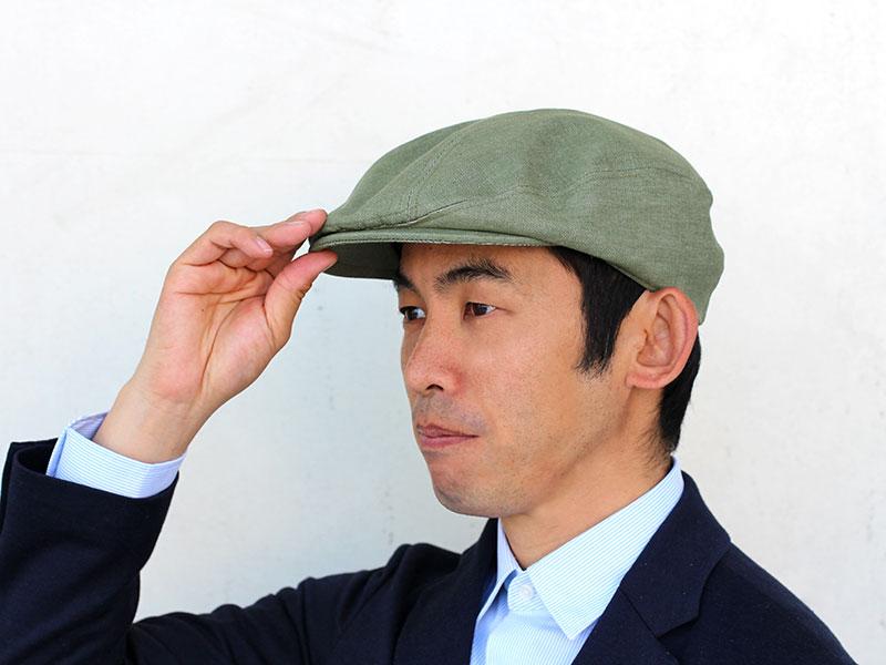 in-h006 井上帽子 ウォッシュコットンハンチング