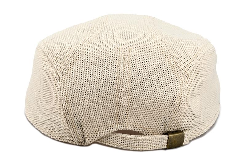 井上帽子 in-h007 涼感メッシュハンチング 日本製 サイズ調整可能・安心の日本製 帽子の後ろ側にベルトがついており、サイズ調整が可能です。55cmから最大60cmの頭囲に対応可能。サイズ選びの心配が無く、贈り物にも最適です。