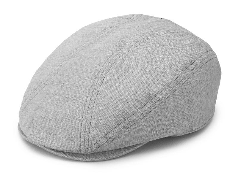 井上帽子 ブッチャー織りハンチング in-h020  フリーサイズ 約55 cm 〜 60 cm