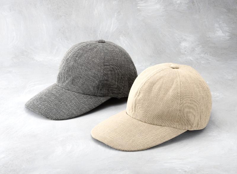 井上帽子 in-hk004 柿渋染め 折りたたみキャップ 日本製