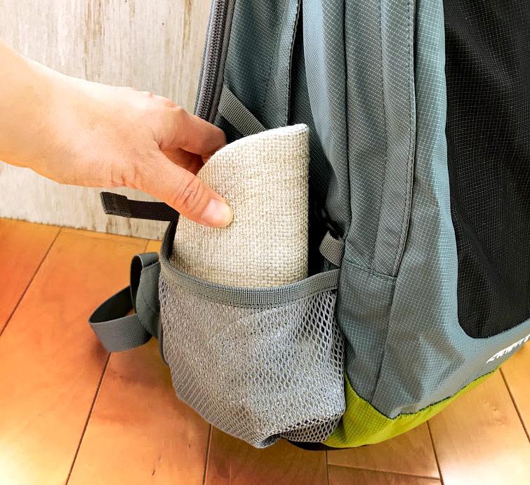 井上帽子 in-hli002 折りたためる麻のキャップ 日本製 折り畳んで持ち運べます。旅行にも最適! つば部分の心材は、折り畳んでも大丈夫な素材を使用。リュックの脇ポケットやパンツのポケットに小さく折り畳んで収納可能です。
