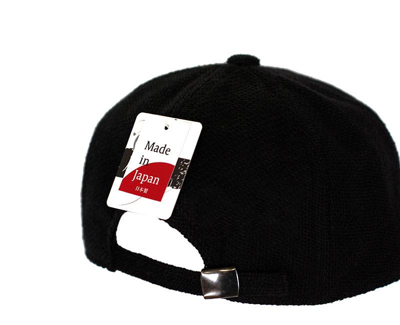 井上帽子 in-hli002 折りたためる麻のキャップ 日本製 ブランド タグ 日本製 made in japan