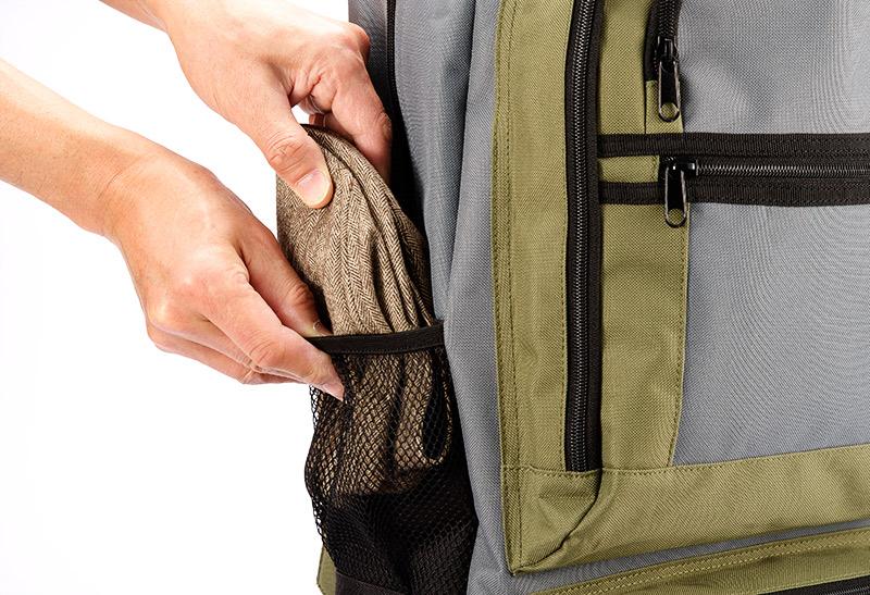 井上帽子 in-hw010 洗えるウールハンチング 日本製 手洗い可能! 折りたたんで持ち運べる、旅行に最適の帽子 手洗いができる素材を使用しているので汗をかいても快適にかぶれます。ツバ芯部分も折りたたみ可能な素材を使用。リュックの脇ポケットやパンツのポケットに小さく折りたたんで収納できます。