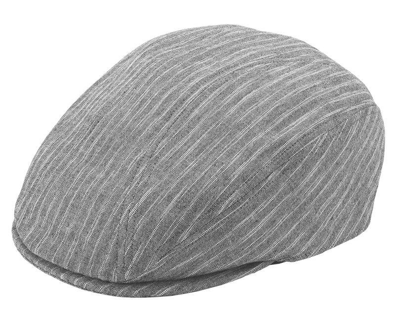 井上帽子 越後亀田縞 in-km-h012 越後亀田縞のハンチングサイズ