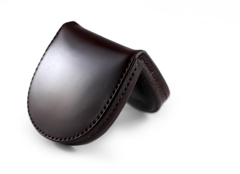 コードバン馬蹄コインケースMilagro(ミラグロ)革本革レザー馬革メンズブランド日本製国産[ボスポークオリジナル]馬蹄型小銭入れke-c002
