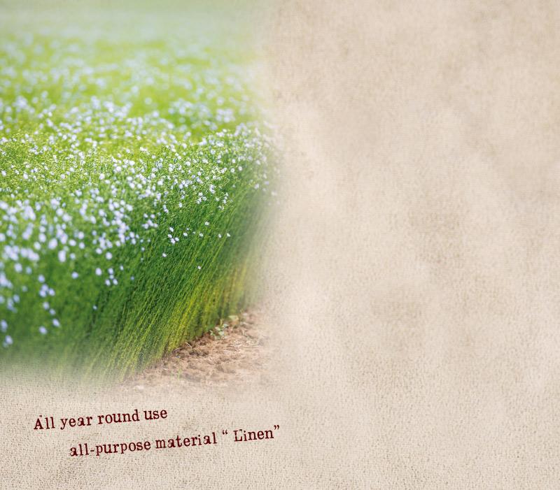ケンランド リネン メンズ リネン トップ 染め ストール  kl-cm40topa リネンの原料は、フラックス(亜麻)という植物です。毎年同じ畑で収穫すると品質が落ちるため、次の栽培まで6年間休ませなければなりません。古くから珍重され、大切に使われてきたリネンは、今でも、収穫量に限りのある貴重な原料なのです。ケンランドで使用しているリネンは、その中でも最高級のもの。ヨーロッパリネン協会が最も上質と定めているフランス、ベルギー、オランダ3国にまたがるリネンの名産地で収穫されるものを使用しています。