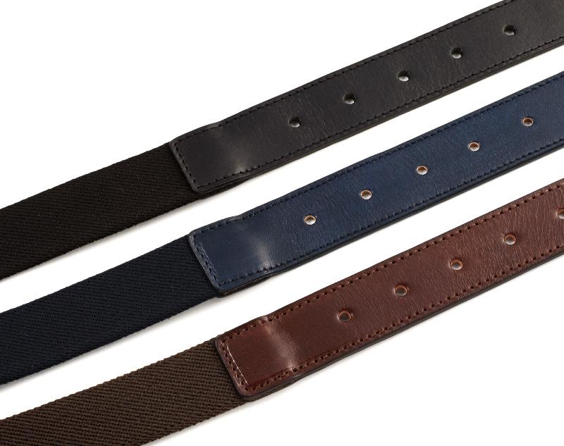 Milagro ミラグロ 収納ポケット付きストレッチベルト mlb-170805  牛革素材の伸縮するレザー製メッシュベルト 耐久性に優れた素材を使用 ベルトの帯はベルギーのテキスタイルメーカー・GEVAERT社のゴム素材「エラストディエン」を配合した混紡素材を使用。肉厚で、伸縮性に富み、耐久性に優れた素材です。 また、剣先にはイタリア製の牛革を使用しています。