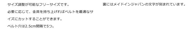 長沢ベルト工業 姫路産 キップ 30mm ベルト nb-019