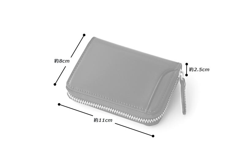 milagro ミラグロ コードバン ラウンドファスナー BOXコインケース oh-bp001 素材 外側:馬革(コードバン) 内側:牛革(イタリアンヌメ)、その他 サイズと重さ(約) (縦)11cm×(横)8cm×(厚さ)2.5cm / 重さ:85g 仕様 外側:オープンポケット×2 内側:ボックス型小銭入れ×1、カードポケット×1、 オープンポケット×1 カラー 3色(ブラック・バーガンディ・キャメル)