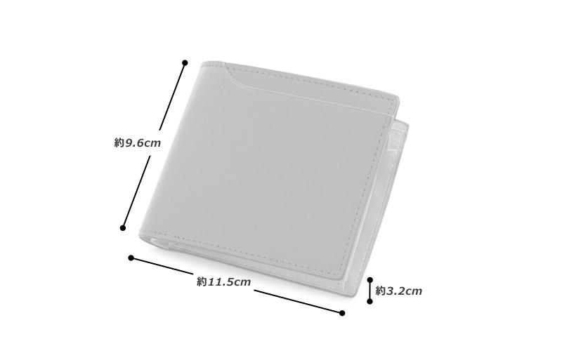 milagro ミラグロ コードバン 二つ折り財布(小銭入れあり) oh-bp003 素材 外側:馬革(コードバン) 内側:牛革(イタリアンヌメ)、その他 サイズと重さ(約) (縦)9.6cm×(横)11.5cm×(厚さ)3.2cm / 重さ:105g 仕様 外側:オープンポケット×1 内側:カードポケット×8、オープンポケット×3、 札入れ×2、 フラップ式小銭入れ×1(中仕切り有) カラー 3色(ブラック・バーガンディ・キャメル)