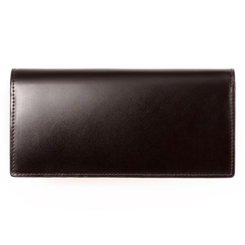 milagro ミラグロ コードバン 二つ折り財布(小銭入れあり) oh-bp003 バーガンディ