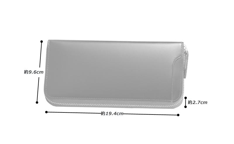 milagro ミラグロ コードバン ラウンドファスナー 長財布 oh-bp005 素材 外側:馬革(コードバン) 内側:牛革(イタリアンヌメ)、その他 サイズと重さ(約) (縦)9.6cm×(横)19.4cm×(厚さ)2.7cm / 重さ:215g 仕様 外側:オープンポケット×1 内側:ファスナー式小銭入れ×1、札入れ×3、カードポケット×9、オープンポケット×2 カラー 3色(ブラック・バーガンディ・キャメル)