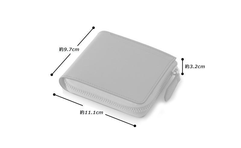 milagro ミラグロ コードバン L字ファスナー 二つ折り財布 oh-bp006 素材 外側:馬革(コードバン) 内側:牛革(イタリアンヌメ)、その他 サイズと重さ(約) (縦)9.7cm×(横)11.1cm×(厚さ)3.2cm / 重さ:125g 仕様 外側:オープンポケット×1 内側:ボックス型コインケース×1、札入れ×2、カードポケット×7、オープンポケット×3 カラー 3色(ブラック・バーガンディ・キャメル)