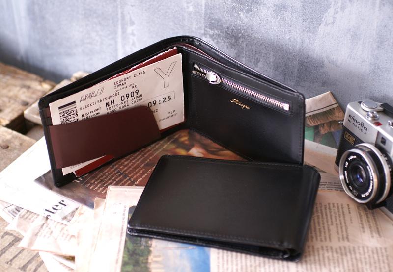 milagro ミラグロ グレイスレザー パスポートウォレット oh-bp022