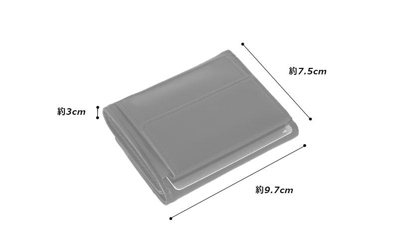 Milagroアニリンカーフミニ三つ折り財布oh-bp302 素材外側:牛革(カーフ)、金具 内側:牛革(カーフ)、ポリエステルサイズと重さ(約)縦:9.7cm × 横:7.5cm × 厚さ:3cm / 65g仕様外側:小銭入れ×1、オープンポケット×1内側:札入れ×2、カードポケット×4カラー6色(ブラック、ネイビー、オリーブ、グレー、キャメル、チョコ)
