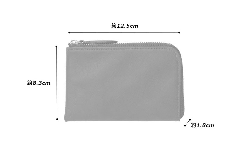 阿波藍染 ソフト馬革 L字ファスナー 短財布 oh-bp041 素材:馬革(藍染)、綿、金具、その他 サイズと重さ(約):(縦)8.3cm×(横)12.5cm×(厚さ)1.8cm/65g 仕 様:カード入れ×4、オープンポケット×2、小銭入れ×1 カラー:1色(インディゴブルー) 生産国:日本