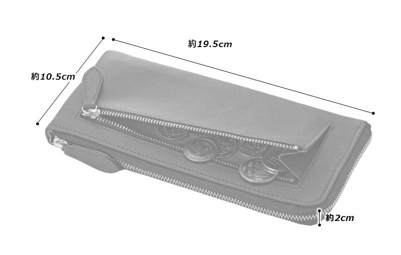 阿波藍染 ソフト馬革 L字ファスナー 長財布 oh-bp042 素材:馬革(藍染)、綿、金具、その他 サイズと重さ(約):(縦)10.5cm×(横)19.5cm×(厚さ)2cm/140g 仕 様:外側:ファスナー式コインケース×1、内側:カード入れ×17、札入れ×2、小銭入れ×1、カラー:1色(インディゴブルー)、生産国:日本