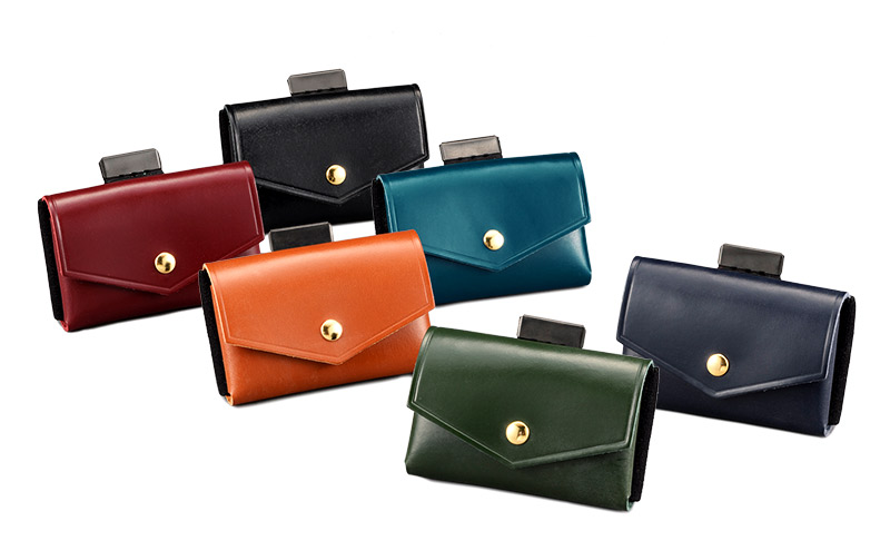 com-ono コムォノ 池之端銀革店 otco-t001 日本製 デザイン性と機能性を兼ねたミニ財布<