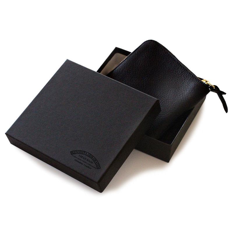 池之端銀革店 ミネルバボックス L字ファスナー財布 ot-wl007  箱に入れてお届けします。