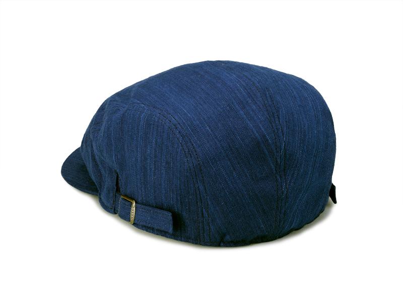 ORIHARA STYLE 小島屋 武州正藍染 ハンチングキャップ ra-or-h005 明治5年創業の小島屋×ORIHARA STYLEのコラボレーション 小島屋は、明治5年の創業時から140余年にわたって藍染織物を生産し続けている、染織工場発のブランド。その老舗生地屋さんと帽子デザイナーであり、職人でもある折原氏のブランドであるORIHARA STYLEとのコラボレーションアイテム。