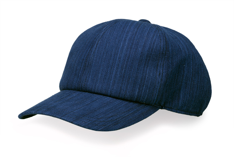 ORIHARA STYLE 小島屋 武州正藍染 キャップ ra-or-h006 ORIHARA STYLE 鮮やかな藍染が映える武州正藍染のキャップ。