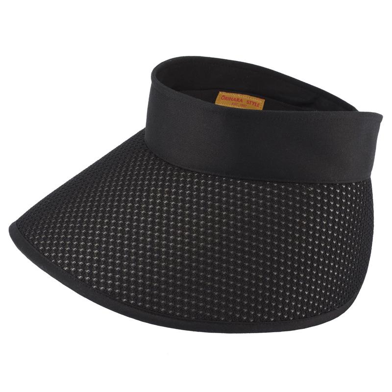 ORIHARA STYLE 折りたたみ式 軽量UVサンバイザー ra-or-h010  ブラック