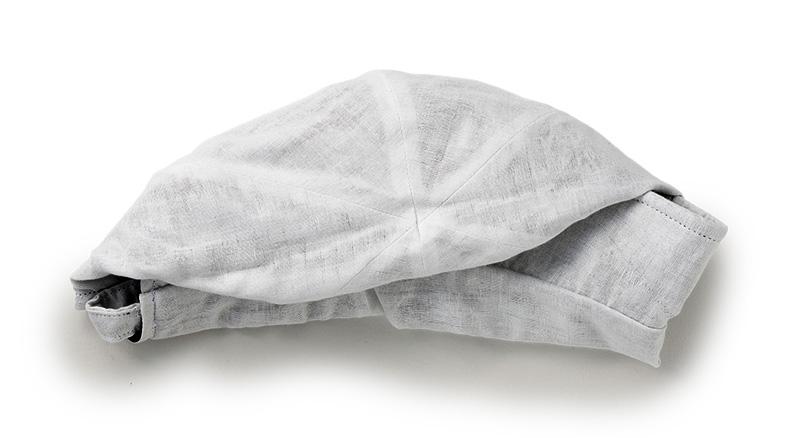 ORIHARA STYLE オリハラスタイル 菌・抗ウィルス クレンゼ使用 ダブルガーゼ 女優帽 ra-or-h014