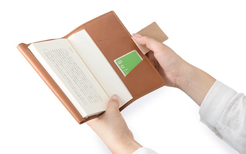 iroiro オイルプルアップレザー ブックカバー (L) 新書サイズ sl-o-001