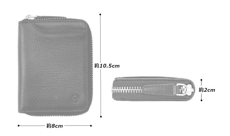 Milagro(ミラグロ) オイルプルアップレザー・ボックスコインケース sl-o-031b