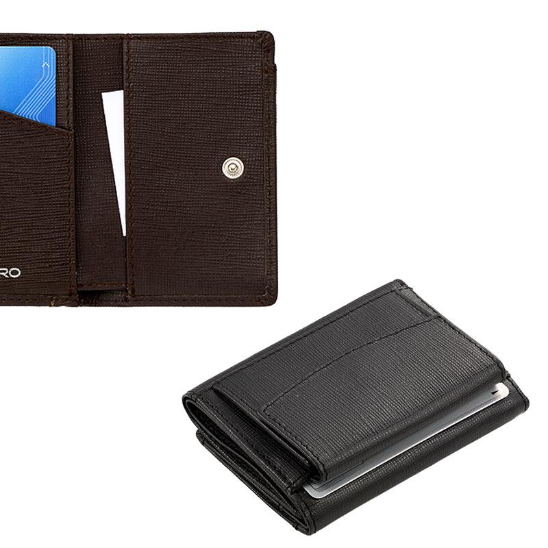 Milagro(ミラグロ) サフィアーノレザー・3つ折り財布 sl-s-030a