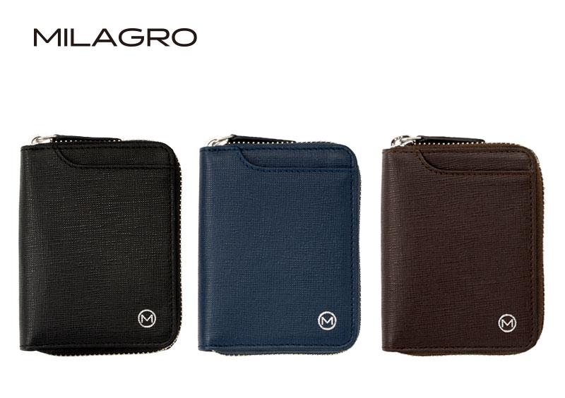 Milagro(ミラグロ) サフィアーノレザー・ボックスコインケース sl-s-031a